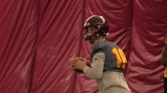 With Manny Wilkins gone, four quarterbacks are competing for the No.1 job.