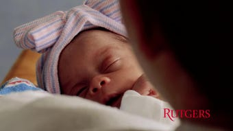 Robert Wood Johnson Medical School students have started a baby cuddler program for preemies.