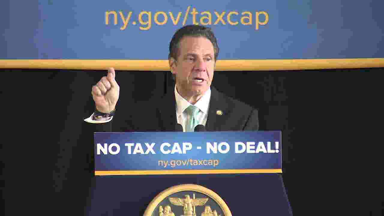 Cuomo in Peekskill calls permanent tax cap  my line in the sand cdc89be3a6c5