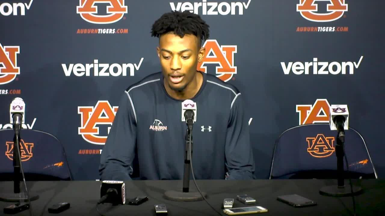 8cd3d2db5889 Auburn center Anfernee McLemore ready for SEC Tournament after being  injured last season