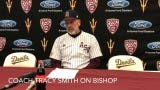 Hunter Bishop hits two homers and robbed a homer from New Mexico State in ASU baseball's 7-3 win Wednesday.
