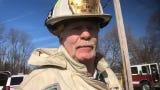 Joseph Stewart Sr. talks about the fire that hit a Milltown home Thursday, injuring a firefighter.