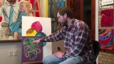 Local artist Adam Spaeth explains the concept and process behind making a community painting.