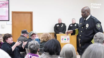 Buncombe County Sheriff Quentin Miller reflects on his first 100 days in office.