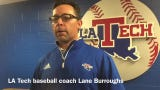 Louisiana Tech head baseball coach Lane Burroughs discusses his team's confidence heading into Southern Miss series.