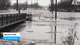 Flooding scenes from area rivers in the Sioux Falls area.