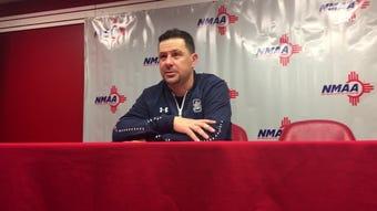 Silver boys basketball team loses 53-50 heartbreaker to Valley Thursday in Albuquerque.