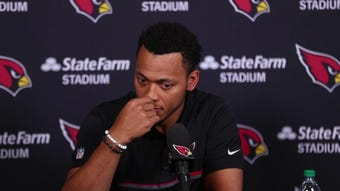 Brett Hundley speaks to media about signing with the Cardinals