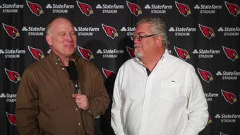 Kent and Bob break down the news after linebacker Terrell Suggs and quarterback Brett Hundley were introduced at the Cardinals Training Facility.