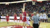 Roncalli's attempts in the final seconds come up short as the Jets lose to New Glarus in a WIAA Division 3 state semifinal game at the Kohl Center.