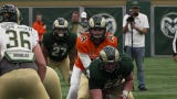Highlights from Colorado State University football's annual spring game, a closed scrimmage held indoors because of inclement weather