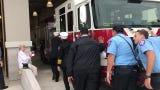City leaders gathered to dedicate new firehouse