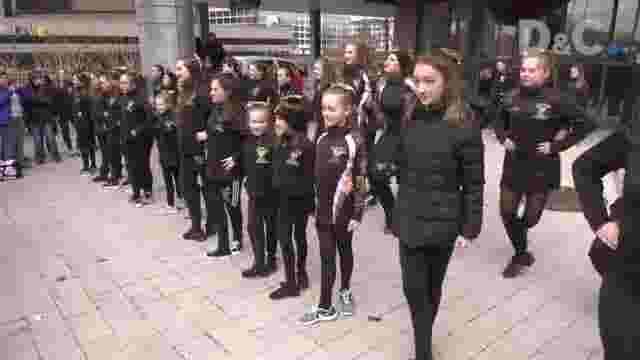 Irish dancers 'kick off' St  Pat's Day events in ROC