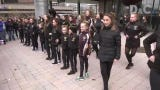 St. Patrick's Day weekend events kicked off on Main Street with Irish dancers.
