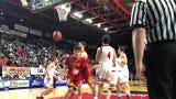 Watch Glens Falls' Joseph Girard III hit one of his eight threes Friday against Olean.