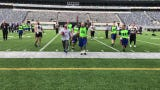 Hundreds of flag-football teams raised more than $500,000 for Special Olympics New Jersey at the three-day Snow Bowl at MetLife Stadium.