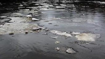 A short video showing the ice breakup flowing down the Sheboygan River to Lake Michigan.