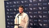 There's no quarterback competition in Nashville, says Titans GM Jon Robinson.