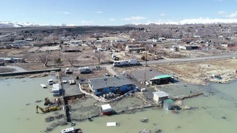 The waters in Swan Lake started rising two years ago. Residents there are still worried.