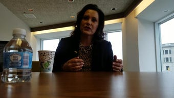 Gov. Gretchen Whitmer sat down with the Times Herald on Friday, March 15, 2019.