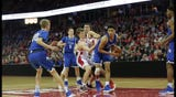 After a stellar season the Neenah Rockets lost to Brookfield Central 61-47 in the Division 1 semifinal game at the Kohl Center in Madison.