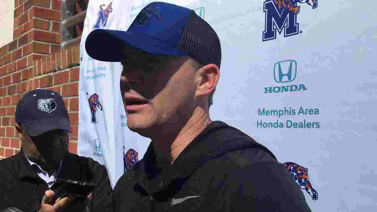 8cc30d77bd018 What happened on the first day of Memphis football spring practice with 7  new assistants