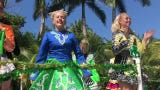 Dancers from the Celtic Sprit School of Irish Dance perform during the annual Naples St. Patrick's Day Parade on Saturday, March 16, 2019.