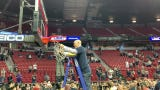 Craig Smith, Utah State cut down nets after winning Mountain West title