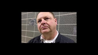 Sheridan Head Coach Doug Fisher on the Generals' regional finals win
