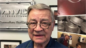 Dennis Woods has worked at Anvil International in Columbia since March 1959. He will retire at the end of this month