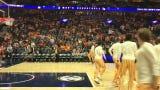 Tennessee pregame dunk before taking on Auburn