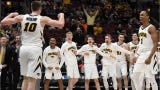 Iowa will face No. 7 seed Cincinnati in the first round of the NCAA Tournament at 12:15 p.m Friday, March 22. The winner between 10-seed Iowa and Cincinnati will play Sunday vs. Tennessee or Colgate.