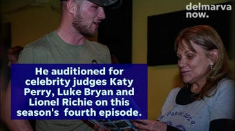 "Chincoteague Island singer-songwriter Dalton Elliott made his debut on ""American Idol"" Sunday night."