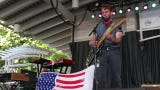 """The pop rock band performs """"Succinct, The Optimist"""" at Summerfest in Milwaukee."""