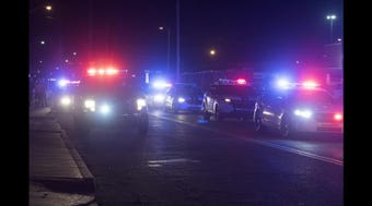 Central Dispatch has released audio recordings of 911 calls made the night a city firefighter was fatally shot in front of his home.