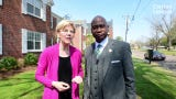 Presidential candidate Elizabeth Warren, D-Mass., visits Greenville to talk housing and to promote her affordable housing bill.