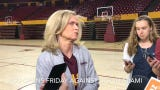 ASU women's basketball coach Charli Turner Thorne was happy to find out her team's NCAA Tournament opponent early due to a bracket leak Monday.