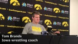 Iowa wrestling coach Tom Brands previews the upcoming NCAA Wrestling Championships.