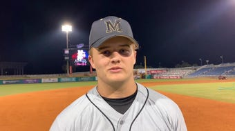 Milton High pitcher Caleb Summerlin talks about stepping back onto the Wahoos diamond
