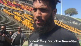 Grambling State wide receiver Devohn Lindsey recaps his Pro Day performance.