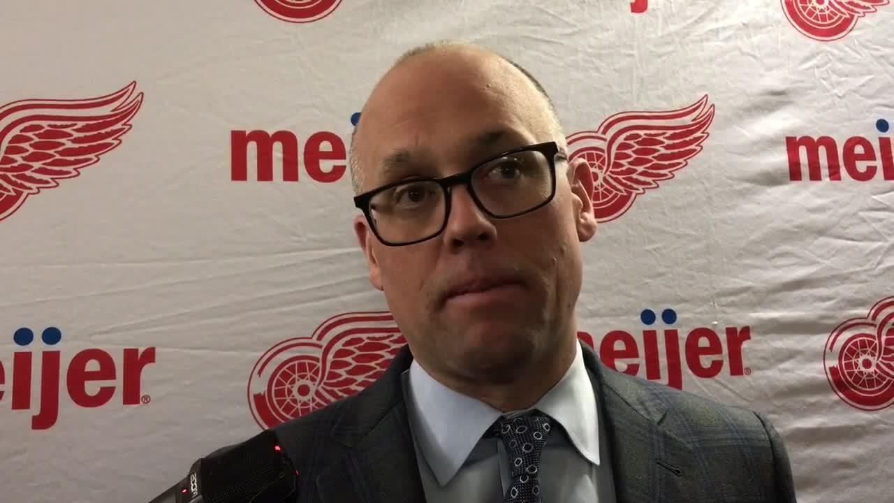 Detroit Red Wings' Jacob de la Rose hospitalized after cardiac episode