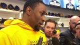 Predators forward Wayne Simmonds on scoring his first goal with Nashville in win over Maple Leafs