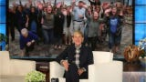 """Teachers and faculty at Gibbs Elementary got a tasty surprise from """"The Ellen DeGeneres Show"""" on Tuesday."""