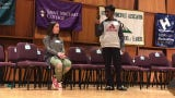 It was as tense as a tennis match at the annual Scripps Spelling Bee. The final two students went 39 rounds before the winner took a final word.