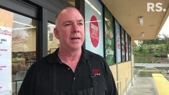 Ron Davis Jr. said his family is eager to open their second Grocery Outlet in Redding. The new store opens March 28, 2019.