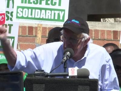 Bernie Sanders calls for criminal justice, education reform at SC town hall