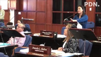 """Sen. Jose """"Pedo"""" Terlaje on Thursday morning gets enough support from his colleagues to place on this week's session agenda Sen. Jim Moylan's bill that would allow mayors to come up with games of chance rules for the Liberation Day carnival."""