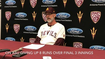 Hunter Bishop hit two homers for 12 total as No. 10 ASU baseball improves to 20-0