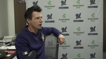 Craig Counsell on cuts, assignments and Jimmy Nelson starting the season in AAA