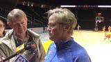Tennessee Lady Vols coach Holly Warlick discusses her team's NCAA bid.